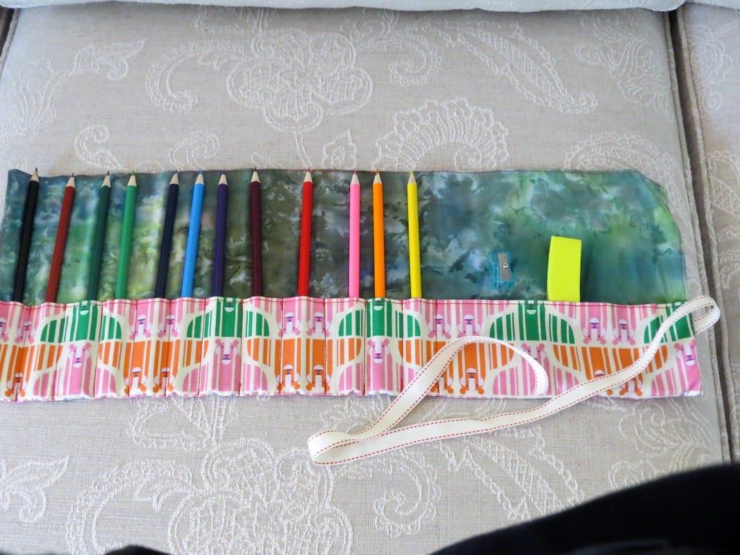 pencil roll